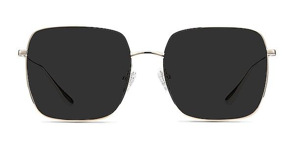 Voyager Golden Metal Sunglass Frames