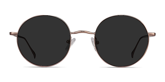 Sun Synapse Rose Gold Metal Sunglass Frames from EyeBuyDirect