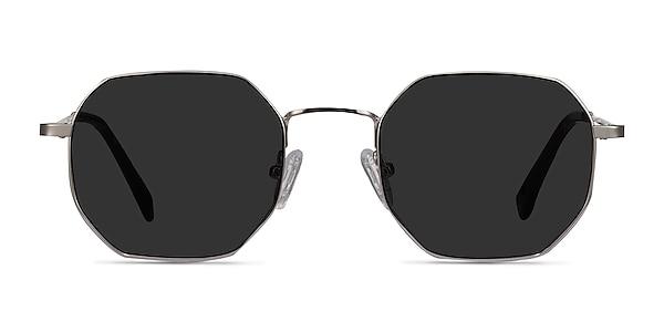 Sun Soar Silver Metal Sunglass Frames