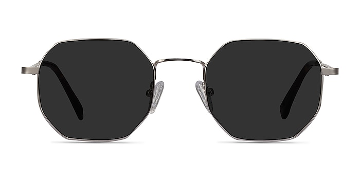 Sun Soar Silver Metal Sunglass Frames from EyeBuyDirect