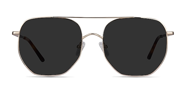 Impossible Golden Metal Sunglass Frames
