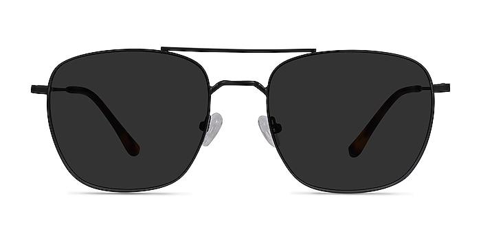 Seeker Black Metal Sunglass Frames from EyeBuyDirect