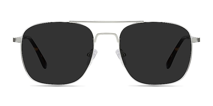 Sun Fame Silver Metal Sunglass Frames from EyeBuyDirect