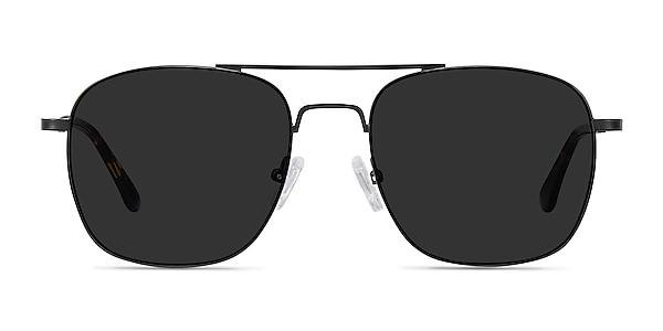 Sun Fame Black Metal Sunglass Frames