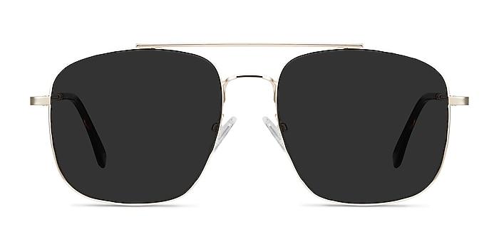 Roadtrip Golden Metal Sunglass Frames from EyeBuyDirect