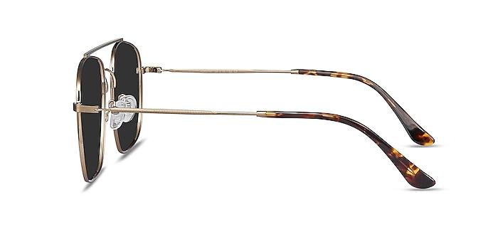 Roadtrip Copper Metal Sunglass Frames from EyeBuyDirect