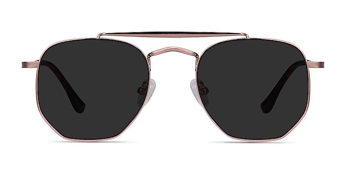 Venture Rose Gold Metal Sunglass Frames from EyeBuyDirect