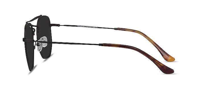 Venture Black Metal Sunglass Frames from EyeBuyDirect
