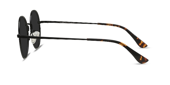 Solbada Black Metal Sunglass Frames from EyeBuyDirect