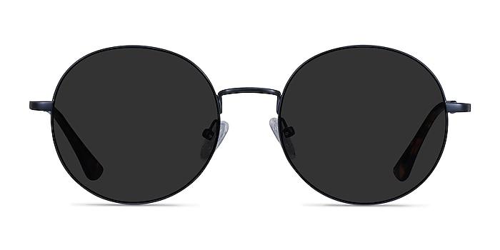 Solbada Navy Metal Sunglass Frames from EyeBuyDirect
