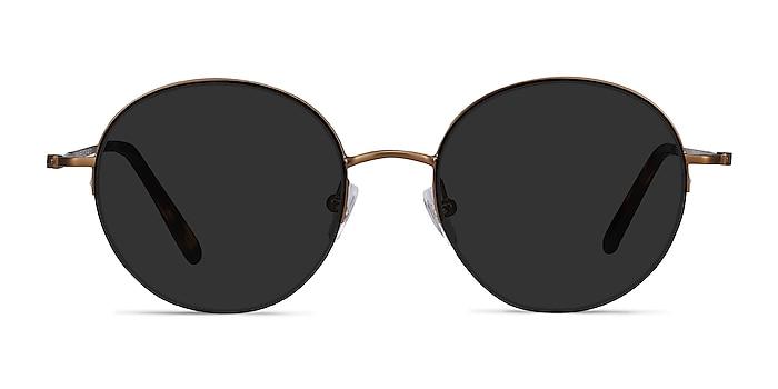 Sun Albee Bronze Metal Sunglass Frames from EyeBuyDirect