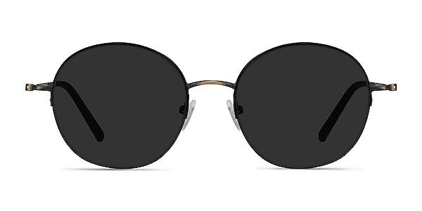 Sun Albee Black Bronze Metal Sunglass Frames