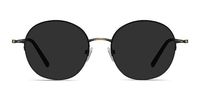Sun Albee Black Bronze Metal Sunglass Frames from EyeBuyDirect