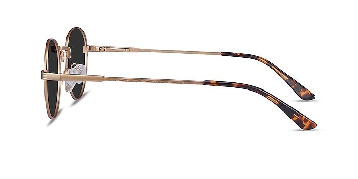Sun Belleville Gold Metal Sunglass Frames from EyeBuyDirect
