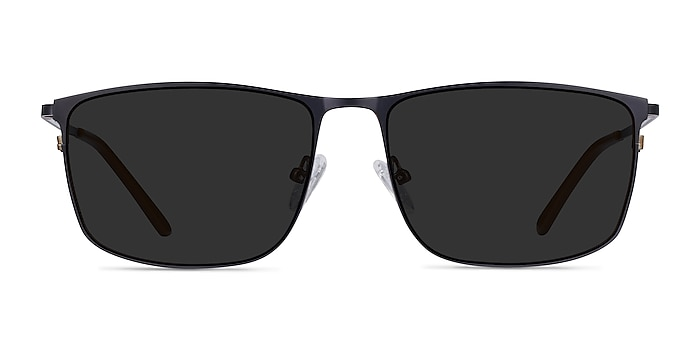 Sun Typha Navy Metal Sunglass Frames from EyeBuyDirect