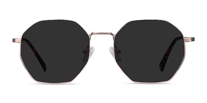 Sun Octave Rose Gold Metal Sunglass Frames from EyeBuyDirect