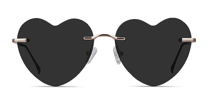 Sun Amore Gold Metal Sunglass Frames from EyeBuyDirect