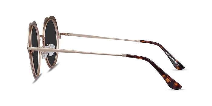 Luv Burgundy Metal Sunglass Frames from EyeBuyDirect