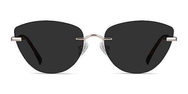 Linger Rose Gold Metal Sunglass Frames