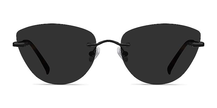 Linger Black Metal Sunglass Frames from EyeBuyDirect