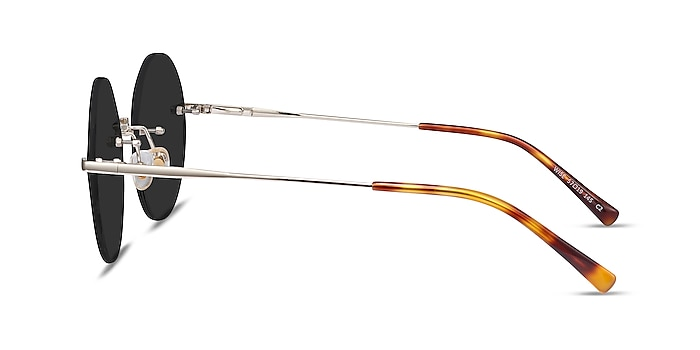 Wise Gold Metal Sunglass Frames from EyeBuyDirect