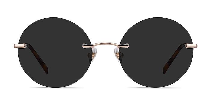 Chorus Rose Gold Metal Sunglass Frames from EyeBuyDirect