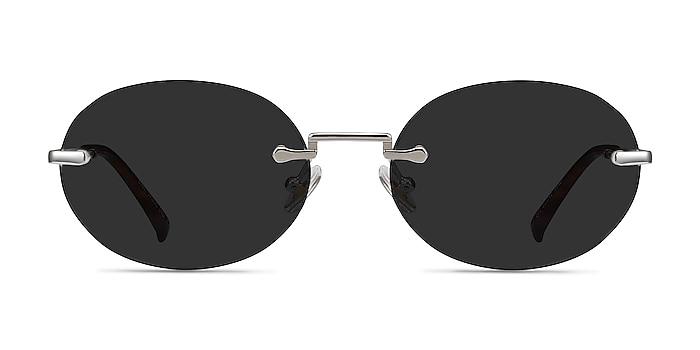 Daze Silver Metal Sunglass Frames from EyeBuyDirect