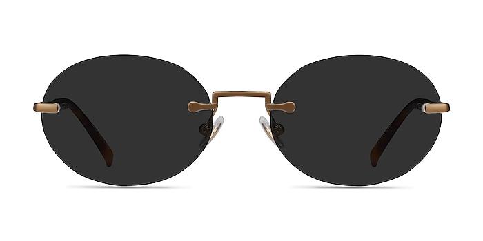 Daze Bronze Metal Sunglass Frames from EyeBuyDirect