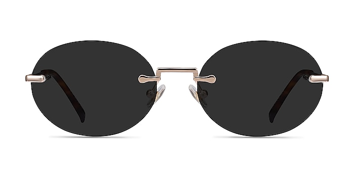 Daze Rose Gold Metal Sunglass Frames from EyeBuyDirect