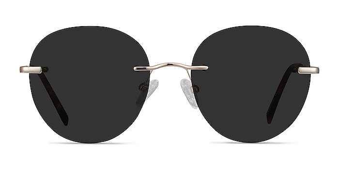 Coast Gold Metal Sunglass Frames from EyeBuyDirect