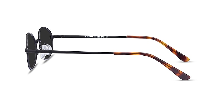 Graham Black Metal Sunglass Frames from EyeBuyDirect