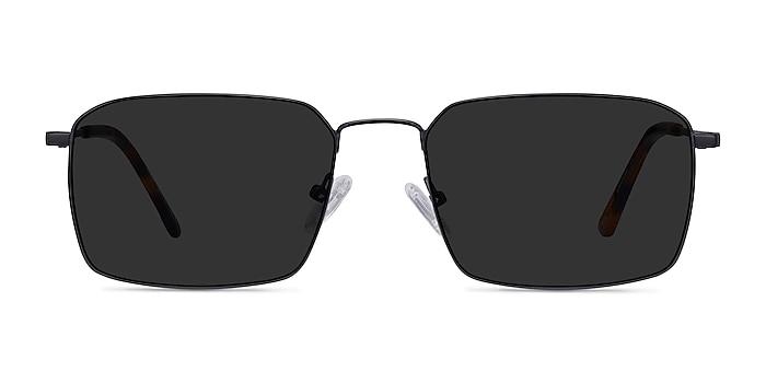 Edge Black Metal Sunglass Frames from EyeBuyDirect