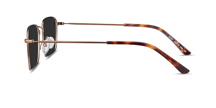 Edge Bronze Metal Sunglass Frames from EyeBuyDirect