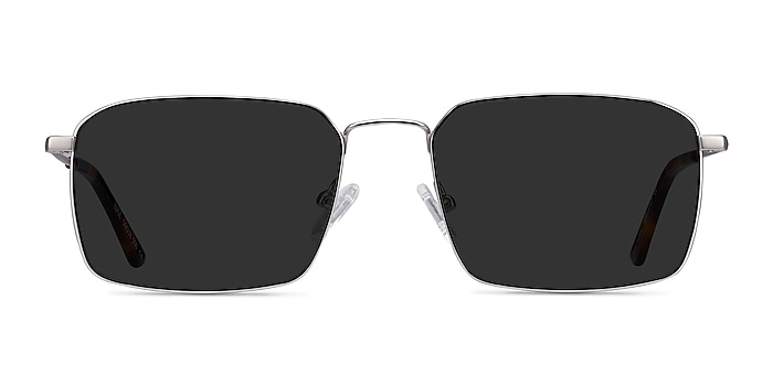 Edge Silver Metal Sunglass Frames from EyeBuyDirect
