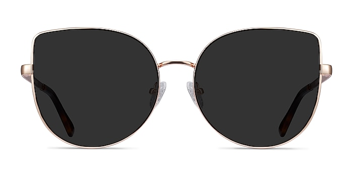 Bless Gold Metal Sunglass Frames from EyeBuyDirect