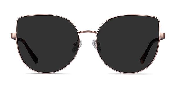Bless Rose Gold Metal Sunglass Frames