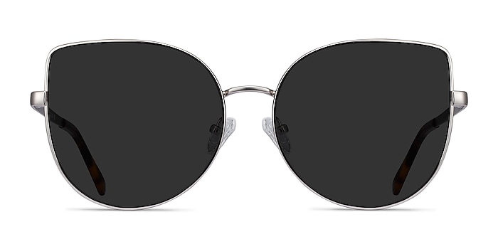 Bless Silver Metal Sunglass Frames from EyeBuyDirect
