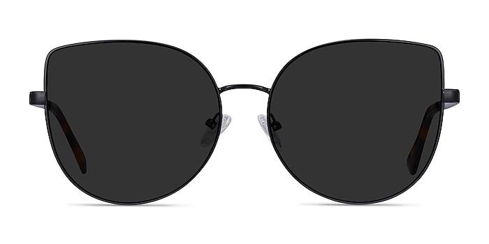 Bless Black Metal Sunglass Frames from EyeBuyDirect