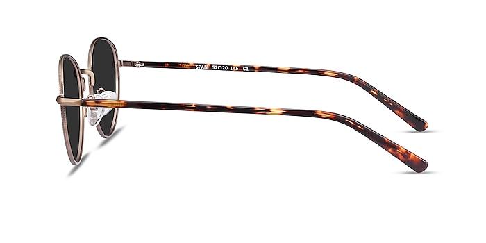 Span Bronze Acetate-metal Sunglass Frames from EyeBuyDirect