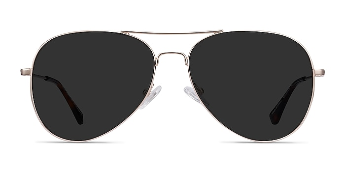 Good Vibrations Gold Metal Sunglass Frames from EyeBuyDirect