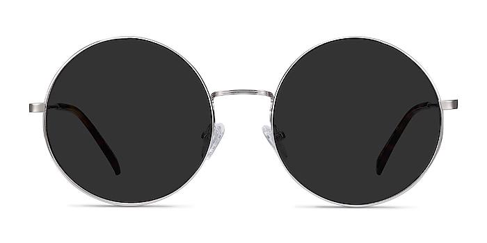 Teavee Argenté Métal Soleil de Lunette de vue d'EyeBuyDirect