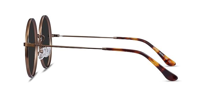 Teavee Bronze Metal Sunglass Frames from EyeBuyDirect