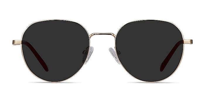 Event Gold Metal Sunglass Frames from EyeBuyDirect