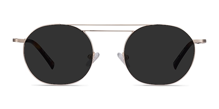 Lito Gold Metal Sunglass Frames from EyeBuyDirect