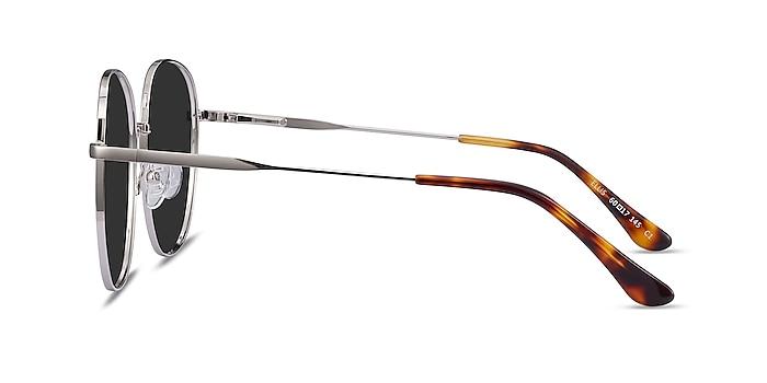 Ellis Silver Metal Sunglass Frames from EyeBuyDirect