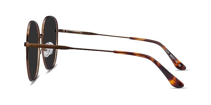 Ellis Bronze Metal Sunglass Frames from EyeBuyDirect