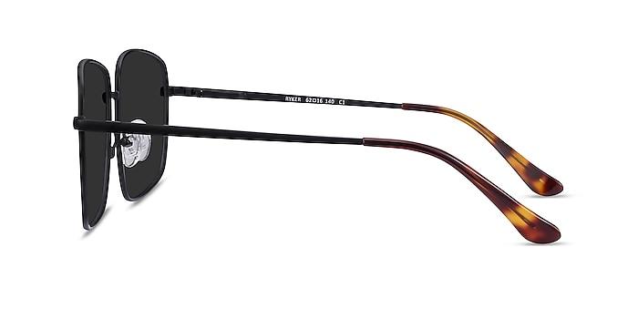 Ryker Black Metal Sunglass Frames from EyeBuyDirect