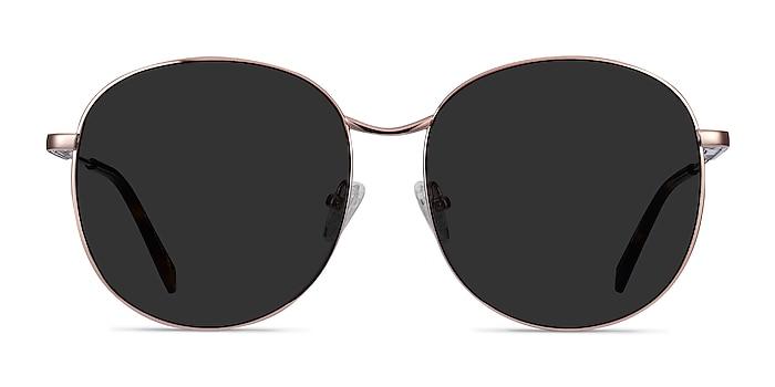 Sage Rose Gold Metal Sunglass Frames from EyeBuyDirect