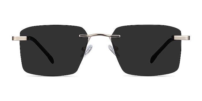 Invent Matte Gold Metal Sunglass Frames from EyeBuyDirect