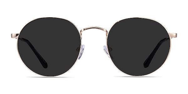 Disclosure Gold Metal Sunglass Frames